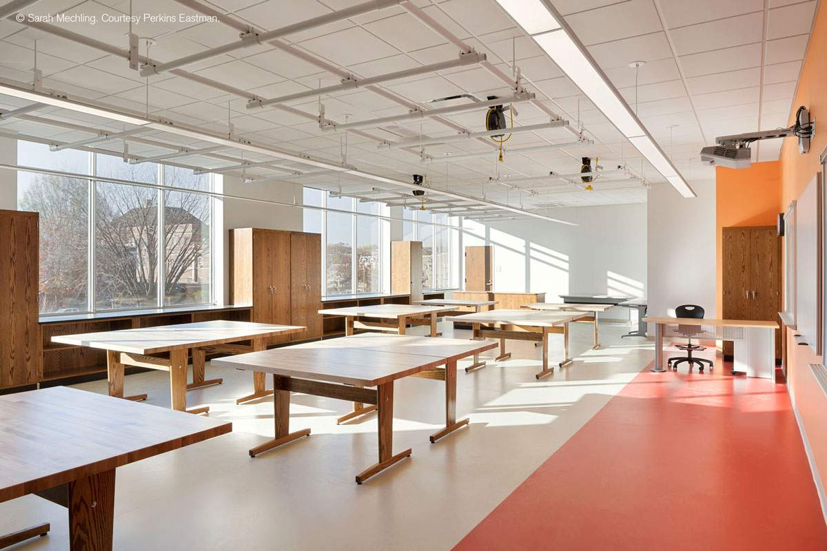 Pavimenti moderni di design - Roosevelt Senior High – Washington DC