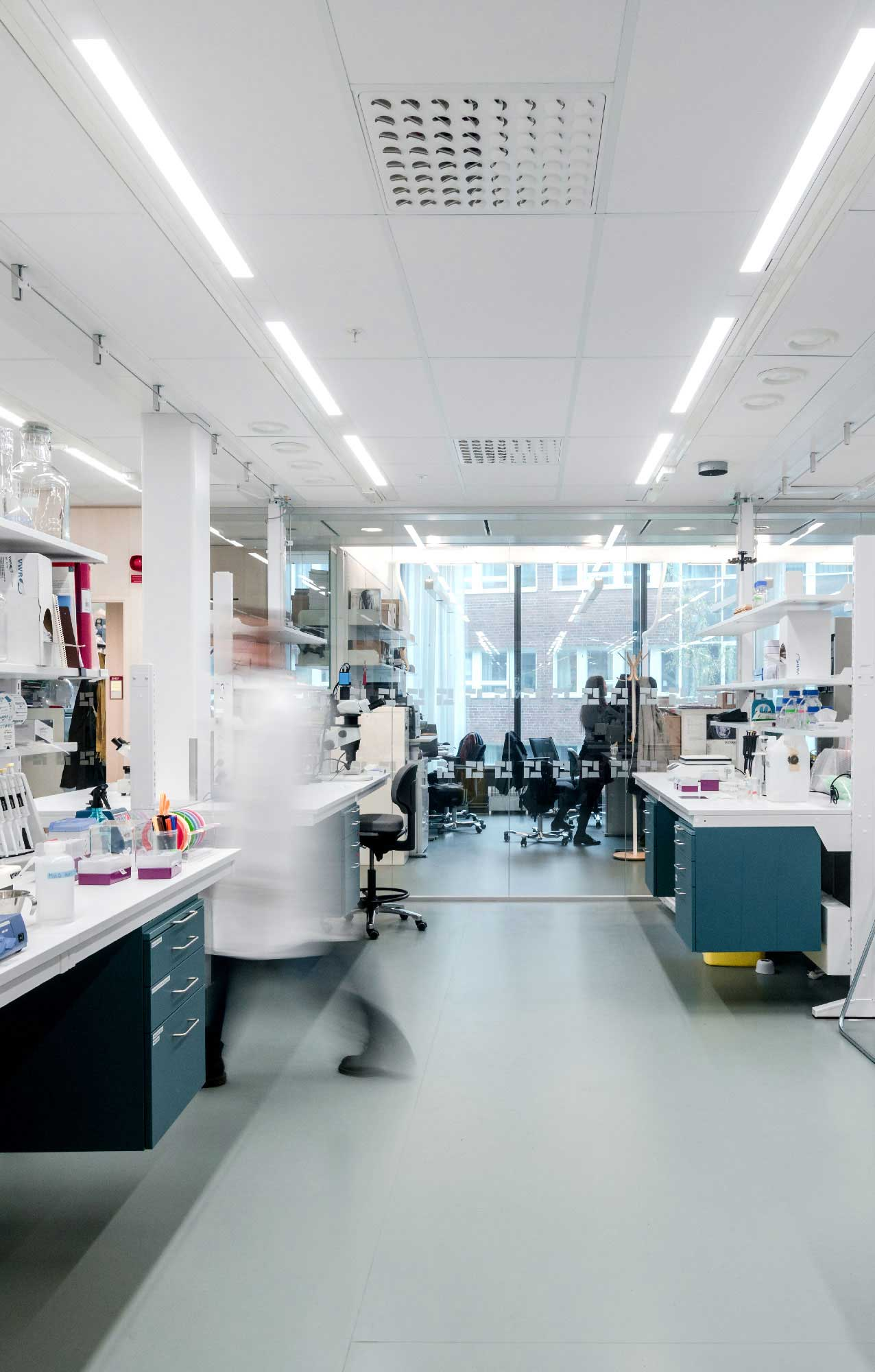 Pavimenti interni moderni di design - Biomedicum – Karolinska Institute